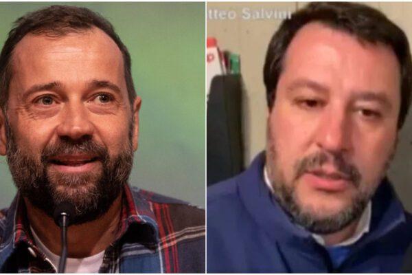 """Il boomerang per Salvini dopo il blitz al citofono. Fabio Volo lo attacca: """"Vai a suonare ai camorristi se hai le palle"""""""