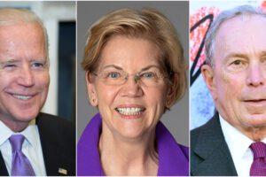 Elezioni Usa, corsa a tre: Bloomerg, Biden o Warren?