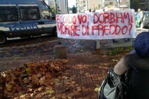 Roma, protestano per il riscaldamento ma con i termosifoni arrivano anche le denunce per il decreto Salvini