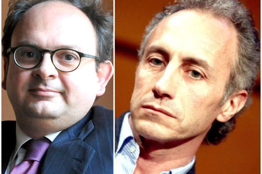 Gianluca Comin e Marco Travaglio