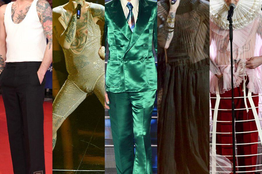 Sanremo, perchè Achille Lauro è Elisabetta I: tutti i look stravaganti del festival spiegati