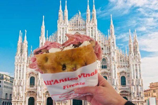All'Antico Vinaio sbarca a Milano, le schiacciate di Firenze si preparano a conquistare l'Italia