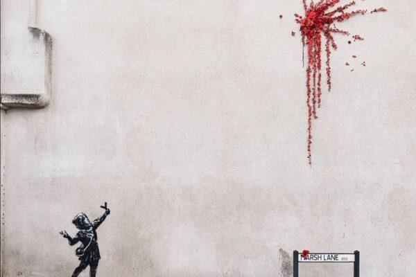 Banksy fa esplodere Cupido per San Valentino, nuovo murales a Bristol