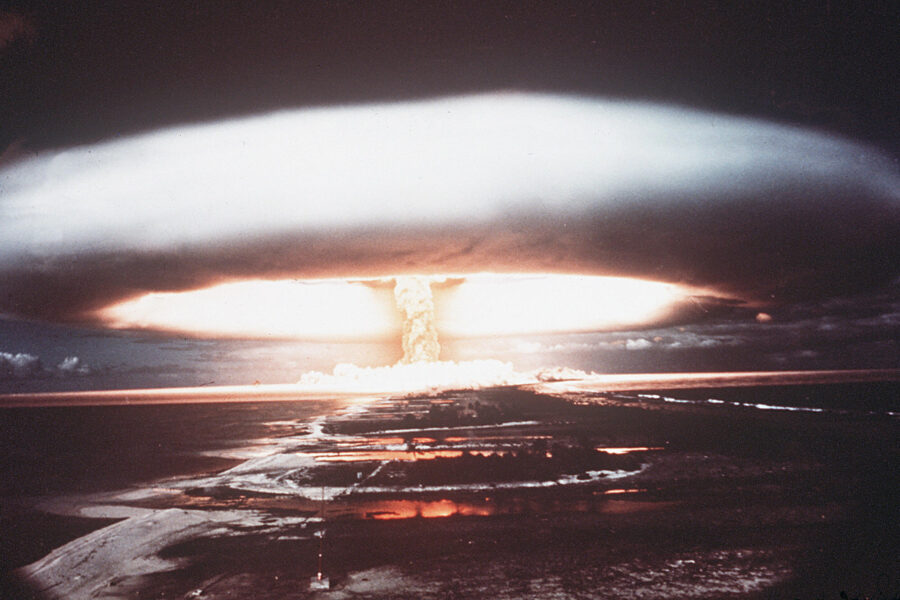 Pensavamo che la bomba H potesse distruggere il mondo, bastava un'influenza…
