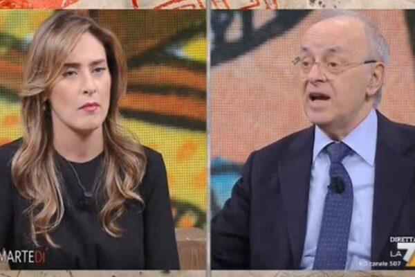 Maria Elena Boschi umilia Piercamillo Davigo su prescrizione e giustizia