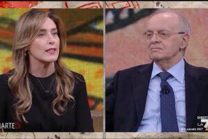Maria Elena Boschi spiega a Piercamillo Davigo le differenze tra giustizialismo e garantismo