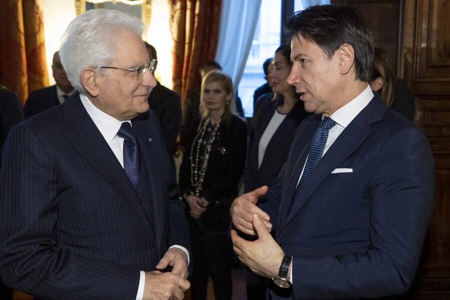 Tensioni nel governo, Conte sale da Mattarella al Quirinale