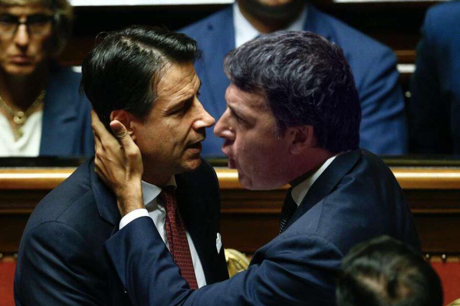 """Caos nel Governo, ultimatum di Renzi a Conte: """"Se boccia le nostre proposte siamo fuori"""""""
