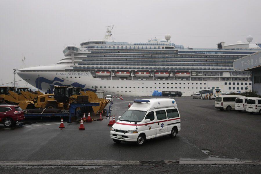 Coronavirus, a bordo della nave Diamond Princess forse un italiano infetto