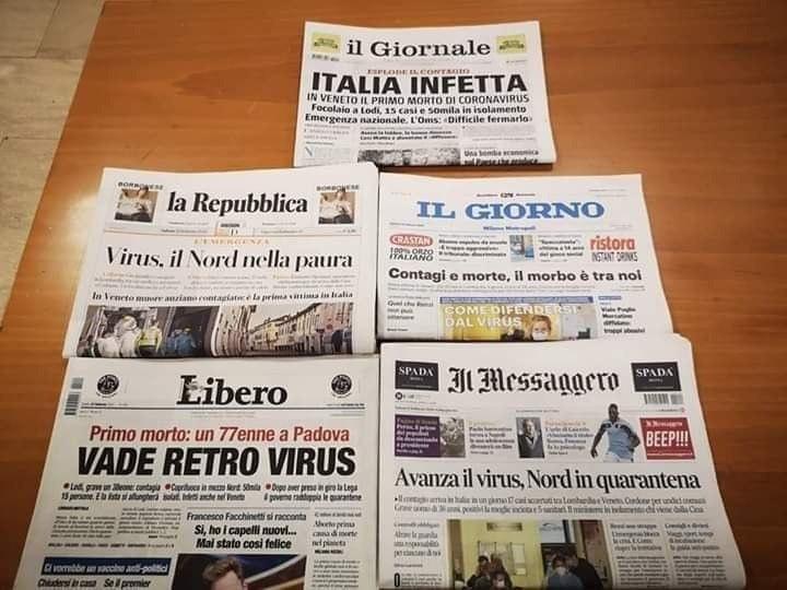 Altro che coronavirus, c'è una crisi di civiltà: responsabili politici e giornali