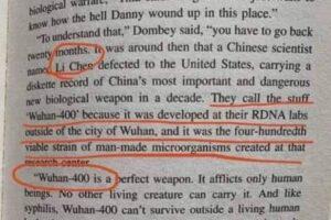 """Coronavirus, nel libro del 1981 la 'profezia' sul """"virus letale da Wuhan"""""""