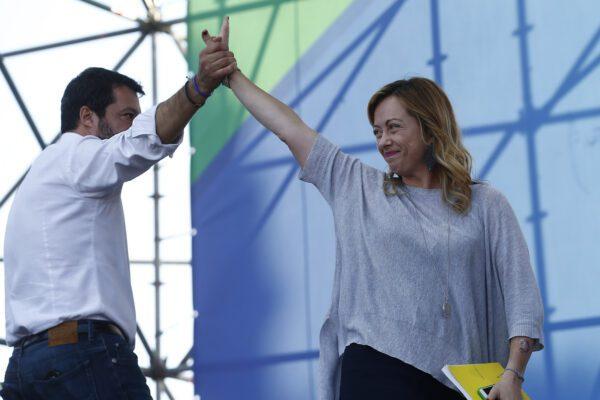 È Giorgia Meloni la principale antagonista di Matteo Salvini