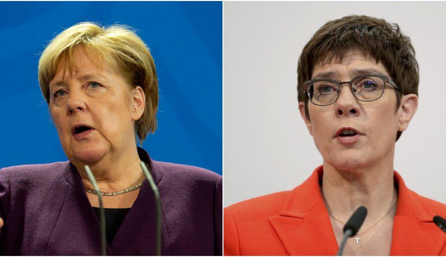 Angela Merkel senza 'eredi', la delfina Karrenbauer rinuncia alle elezioni