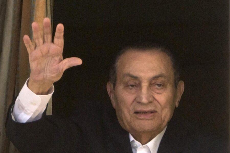 Morto a 91 anni l'ex presidente egiziano Mubarak