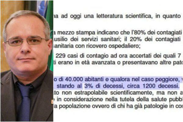 """Coronavirus, a Saronno """"rischio di 1200 decessi"""": l'ordinanza senza basi scientifiche del sindaco leghista"""