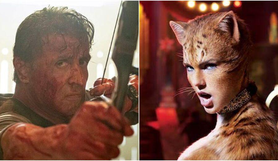 L'altra metà degli Oscar: da Rambo a Cats, quali sono i candidati ai Razzie Awards, i premi per i peggiori film