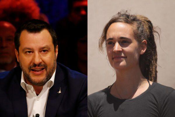 Giornata nera di Salvini, dopo il voto sulla Gregoretti rischia il processo per la diffamazione a Carola