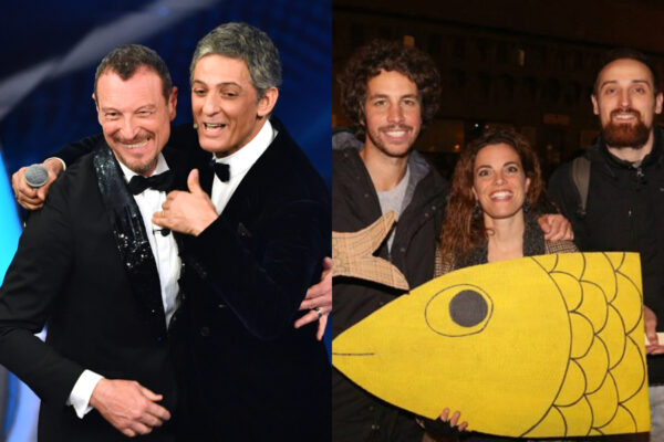 Sanremo come le Sardine: gli italiani dicono basta all'odio