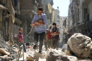 Siria, la strage di bambini che tutti ignorano