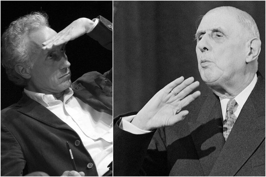 Scandalo Consip-3 / Travaglio, De Gaulle e il fascismo: piccola lezione di ironia