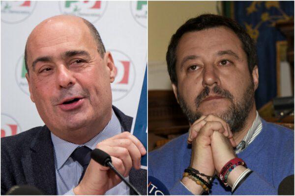 Sondaggio Ixè: crollo Lega, il PD a soli 3 punti da Salvini