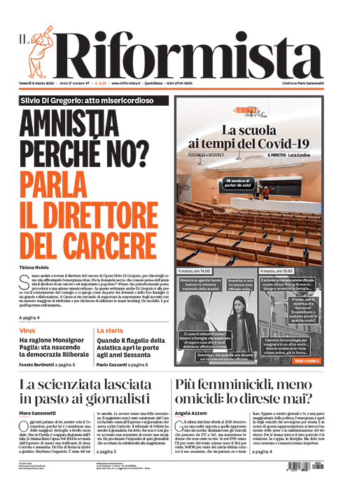 Quotidiano del 6 Marzo 2020