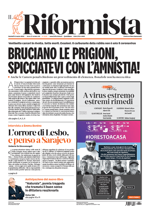 Quotidiano del 10 Marzo 2020
