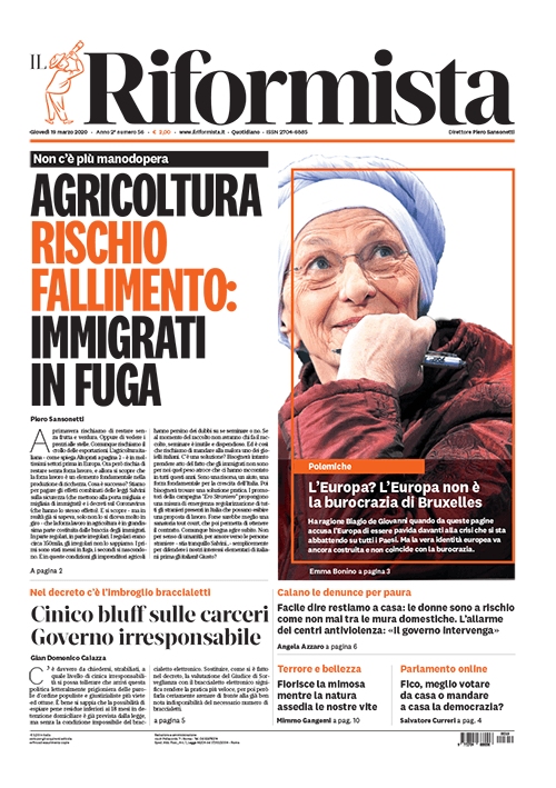 Quotidiano del 19 marzo 2020
