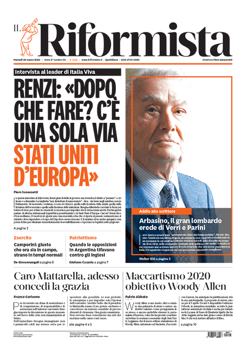 Quotidiano del 24 marzo 2020