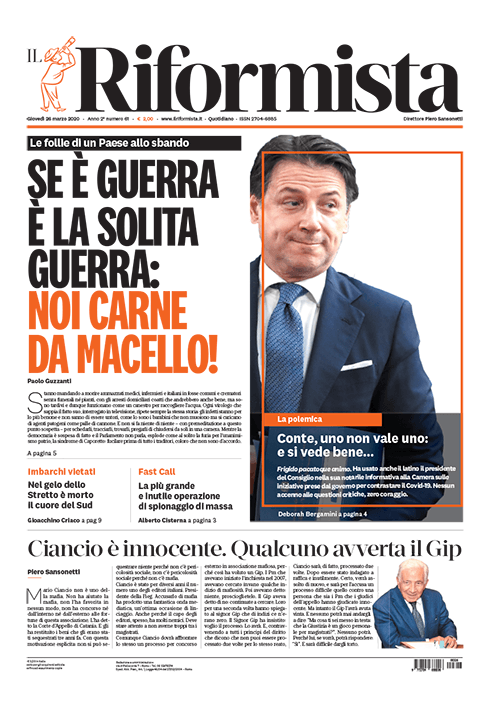 Quotidiano del 26 marzo 2020