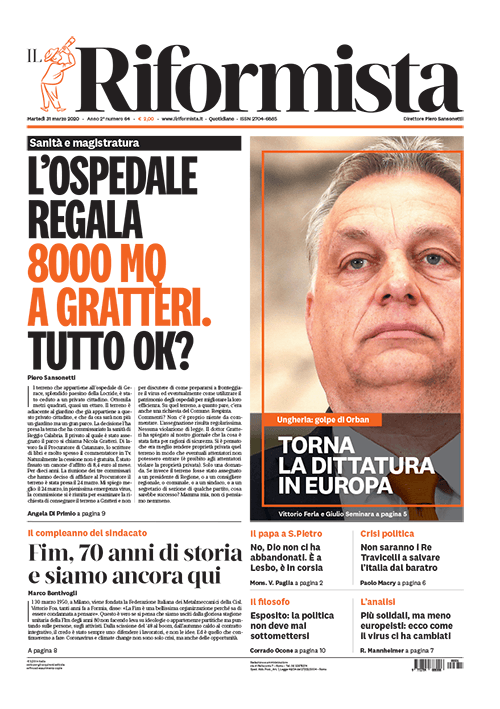 Quotidiano del 31 marzo 2020