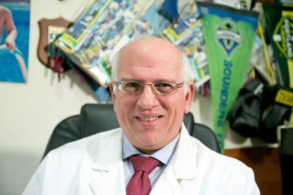 L'oncologo dell'Ospedale Pascale di Napoli Paolo Ascierto