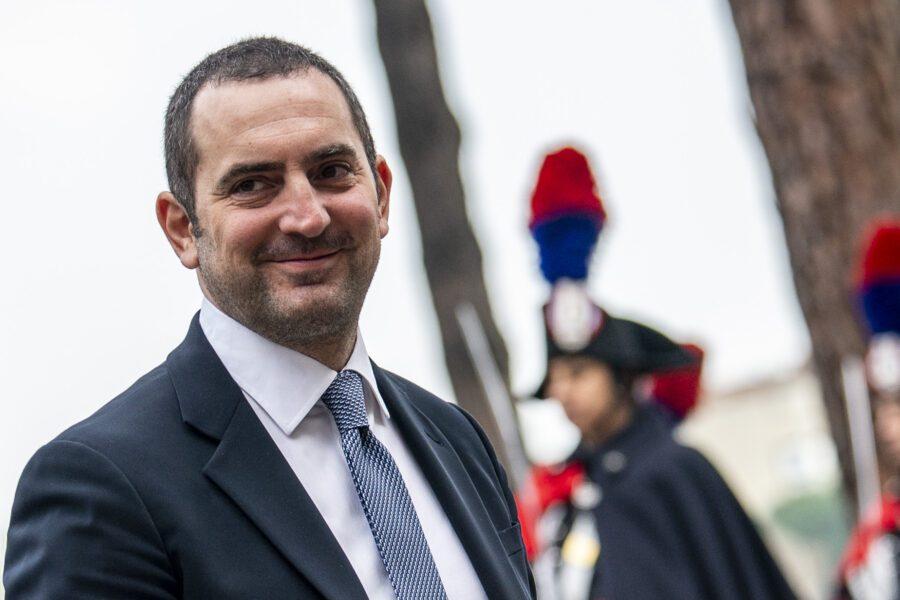 Il ministro dello Sport Spadafora (Foto Valerio Portelli/LaPresse 24-01-2020 Roma, Italia)