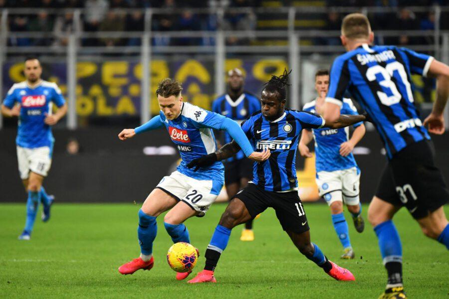 Coronavirus, salta Napoli – Inter al San Paolo: slittano i match di Coppa Italia