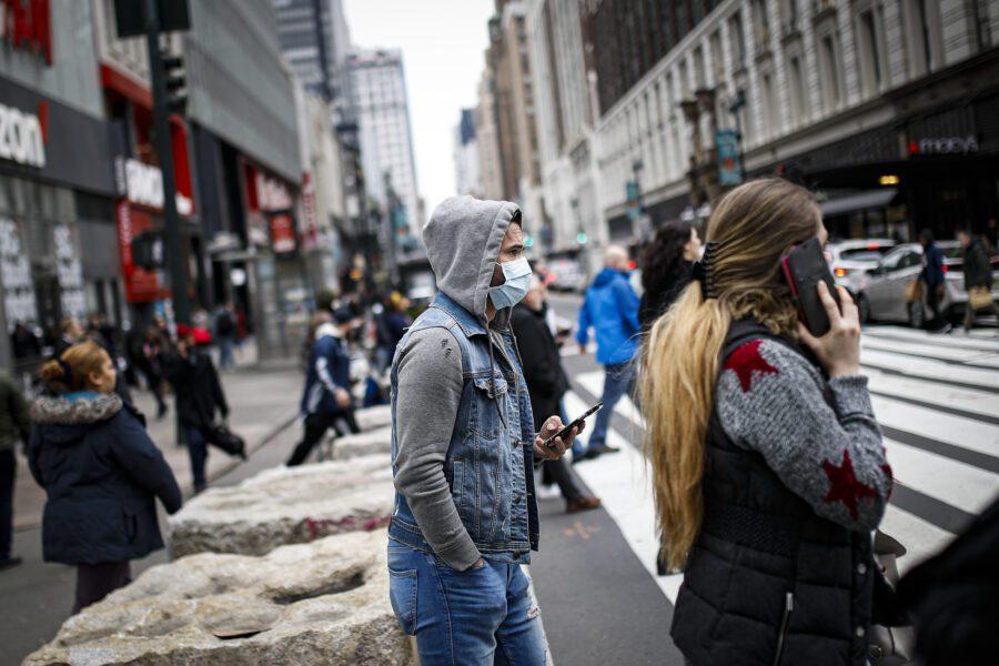 Herald Square a New York (AP Photo/John Minchillo)