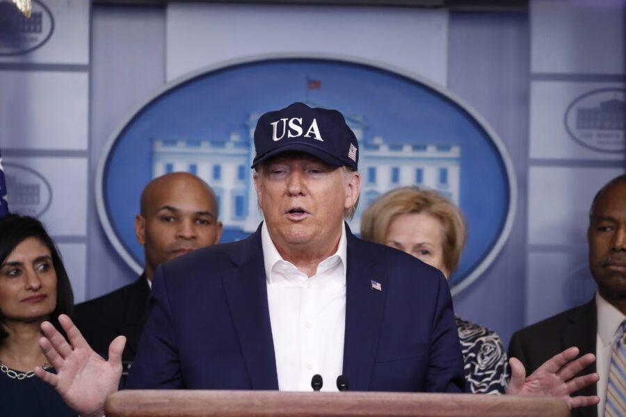 Gli Stati Uniti amano l'Italia, Trump condivide il video delle Frecce Tricolori