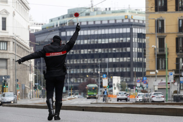 Italia verso chiusura fino a inizio maggio, i timori del Governo