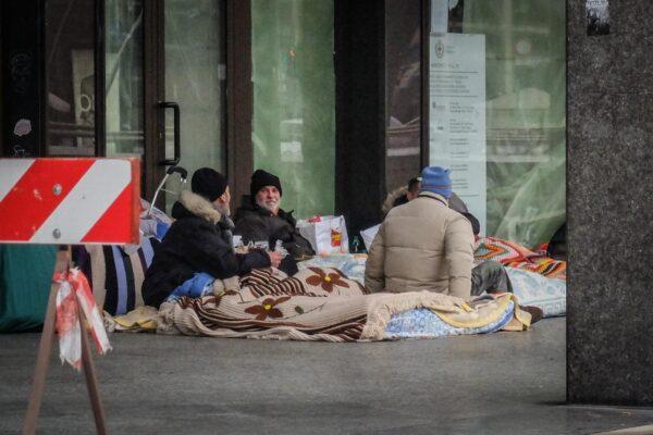 Tragedia senzatetto, è emergenza per 50mila che non hanno una casa