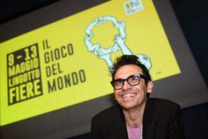 Conferenza stampa di chiusura del Salone del libro 2019. Nella foto: Nicola Lagioia (Photo LaPresse/Giordan Ambrico May 13, 2019 , Torino)
