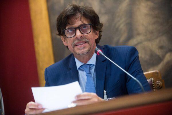 Il procuratore di Agrigento durante un'audizione a Roma (Foto Valerio Portelli/LaPresse 02-07-2019)