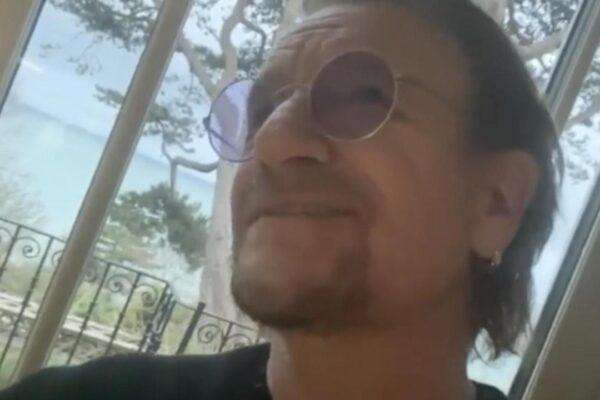 Bono omaggia l'Italia in quarantena con un brano