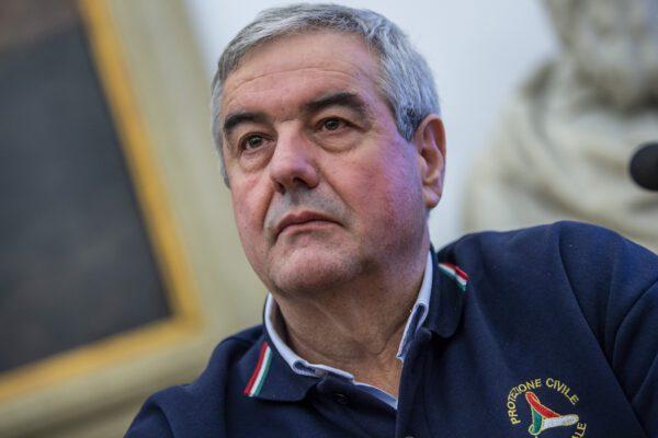 Coronavirus, test negativo per il capo della Protezione civile Borrelli