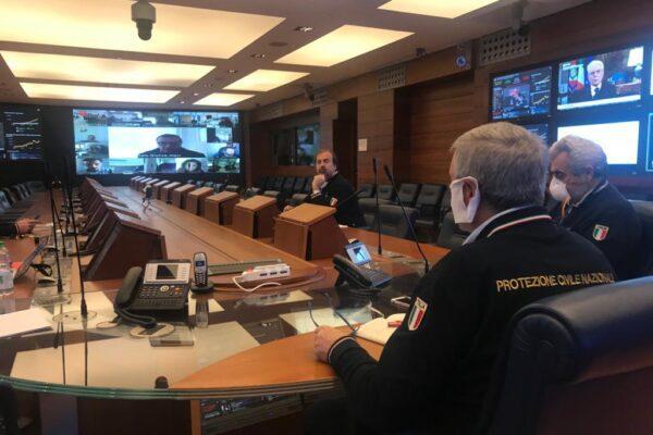 Angelo Borrelli torna in campo, il capo della Protezione civile subito al lavoro