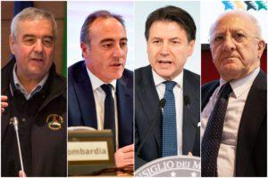 Analisi social Coronavirus: Conte, De Luca, Borrelli e Gallera sconfiggono Salvini e la sua 'Bestia'