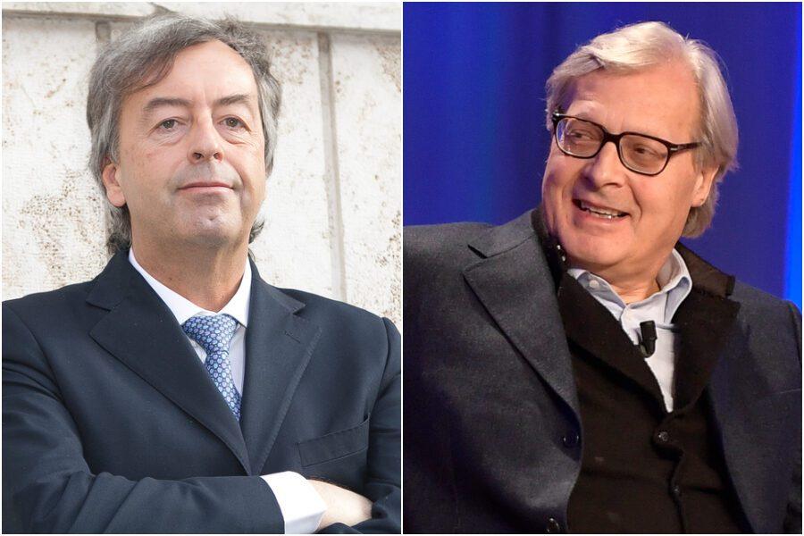 """Sgarbi contro Burioni: """"Il Patto Trasversale per la Scienza lo denunci"""""""