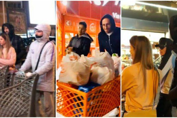 Coronavirus, Barcellona-Napoli a porte chiuse. Giocatori in fila al supermercato
