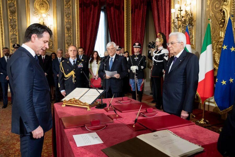 Costituzione calpestata dai DPCM di Conte, uomo solo al comando