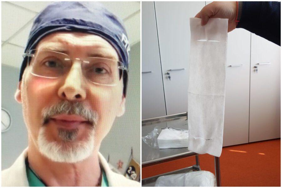 """Fazzoletti come mascherine, medici diventano kamikaze: """"Hanno firmato nostra condanna"""""""