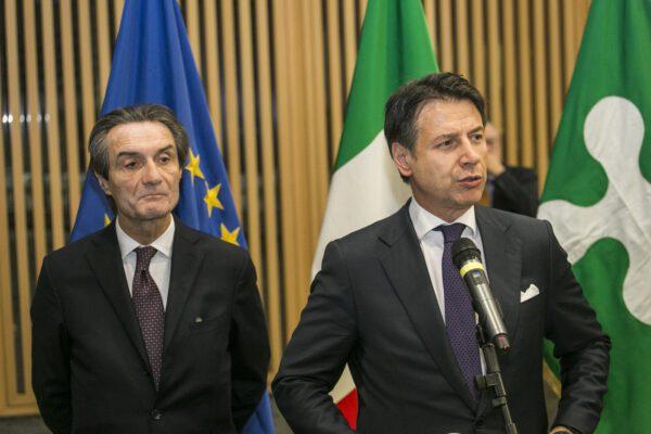 """Coronavirus, è scontro Lombardia-Governo. Fontana: """"Decreto Conte non ha il nostro consenso"""""""