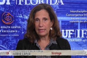 """Il coronavirus non sparirà con l'estate, Ilaria Capua: """"Gestire infezione animali problema enorme"""""""